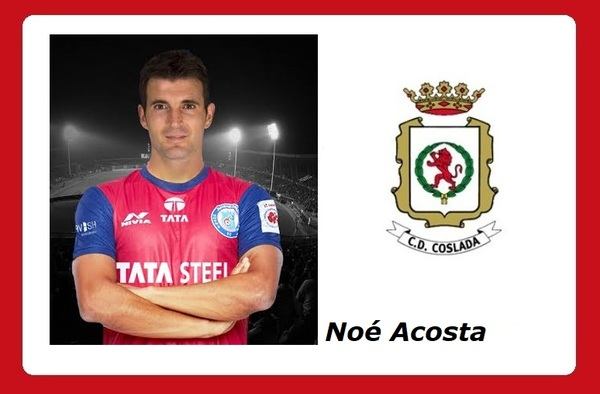 Noé Acosta vinculado al C.D. Coslada hasta final de temporada