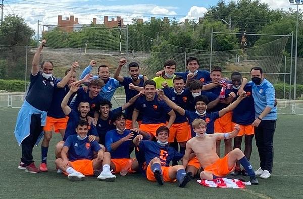 El filial del A.D. Áncora Aranjuez confirmaba el ascenso a Segunda Regional tras su victoria de este domingo pasado