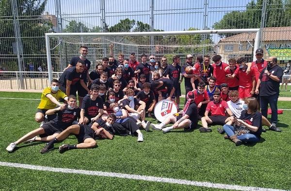 La EF Villa de Madrid finaliza la temporada como Campeón del grupo 11º de Tercera Regional