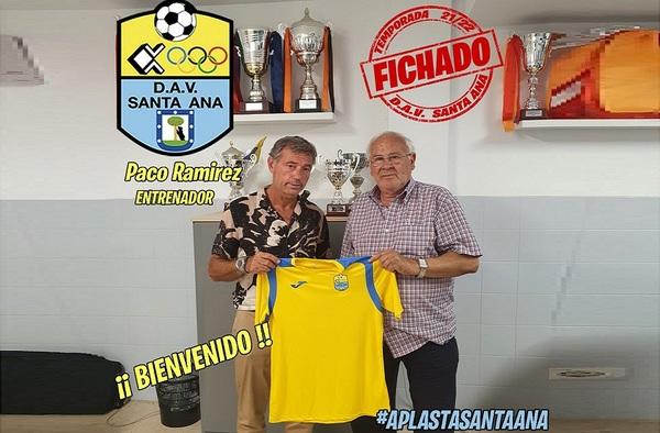 Paco Ramírez dirigirá al DAV Santa Ana en la temporada 2021/22