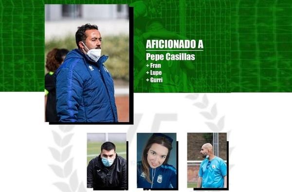 Pepe Casillas renueva como entrenador del C.D. Lucero Linces para la temporada 2021/22