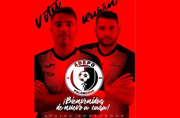 Víctor Alonso y Rubén Ramos llevarán las riendas del Adepo Palomeras en la temporada 2021/22