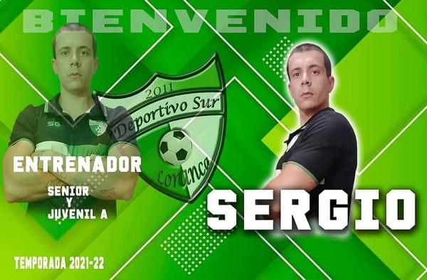Sergio González dirigirá al sénior del Deportivo Sur Loranca - Temporada 2021/22