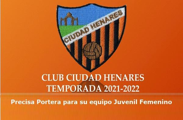 El Club Ciudad Henares precisa portera para su equipo Juvenil Femenino