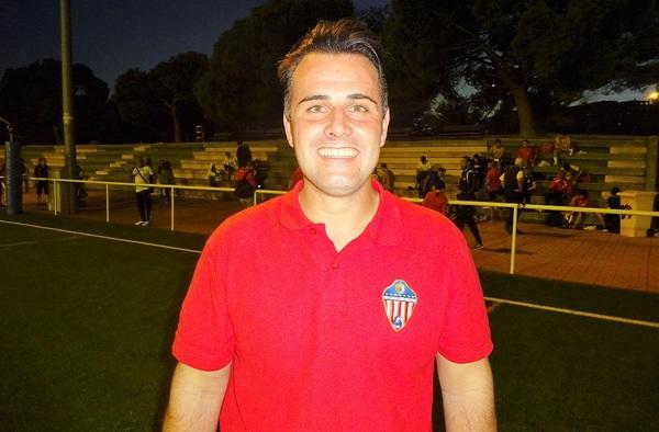 """Entrevista a David Calero, entrenador del C.D. Atlético Vallecas """"B"""" (Temporada 2021/22)"""