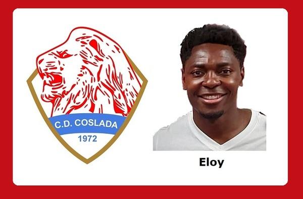 Eloy Edú Nkene firma por el C.D. Coslada a sus 36 años