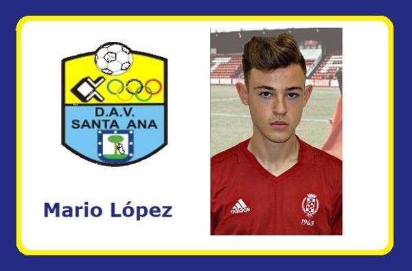 Debut de Mario López en el DAV Santa Ana de Paco Ramírez