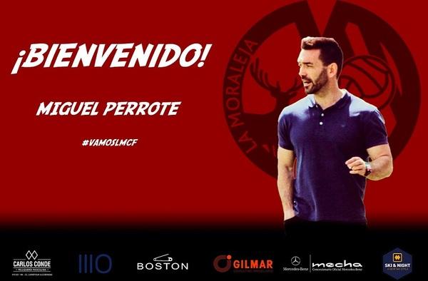 El debut de Miguel Perrote en el banquillo de La Moraleja CF tendrá que esperar
