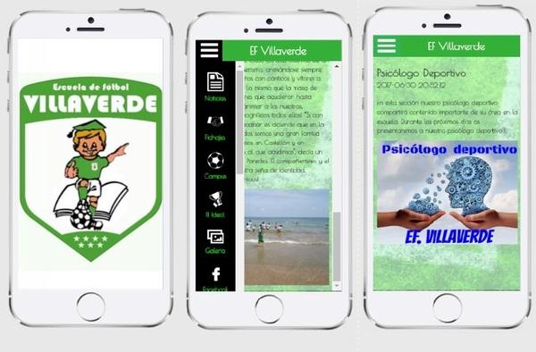 La Escuela de Fútbol Villaverde estrena aplicación para Smartphone