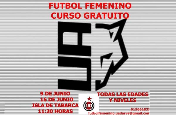 Curso Gratuito de Fútbol Femenino por el Unión Adarve - 9 y 16 de Junio de 2018