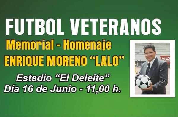 """El fútbol de Aranjuez rinde Homenaje a Enrique Moreno """"Lalo"""""""