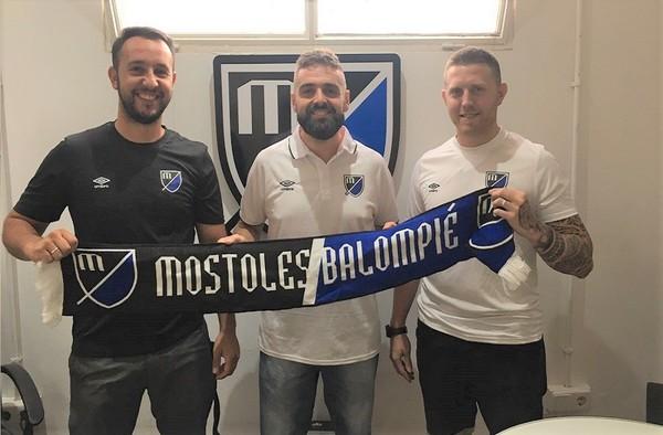El Móstoles Balompié ficha a un técnico del Leganés para su juvenil en la temporada 2018/19