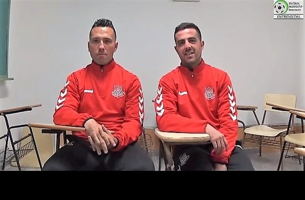 """Vídeo entrevista a Héctor Jiménez y Andy Álvarez, entrenadores del Juvenil """"A"""" y Cadete """"A"""" del Complutense Alcalá  (Temporada 2018/19)"""