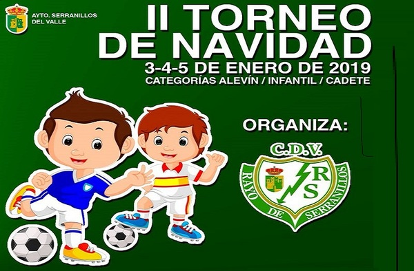 II Torneo de Navidad en Serranillos del Valle - Del 3 al 5 de enero de 2019