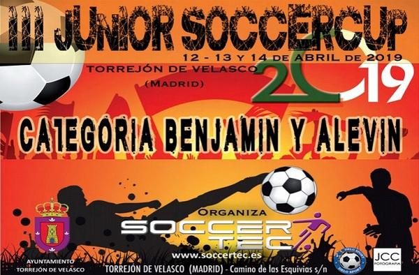 III Torneo Junior Soccercup 2019, Categorías Benjamín y Alevín (Torrejón de Velasco)