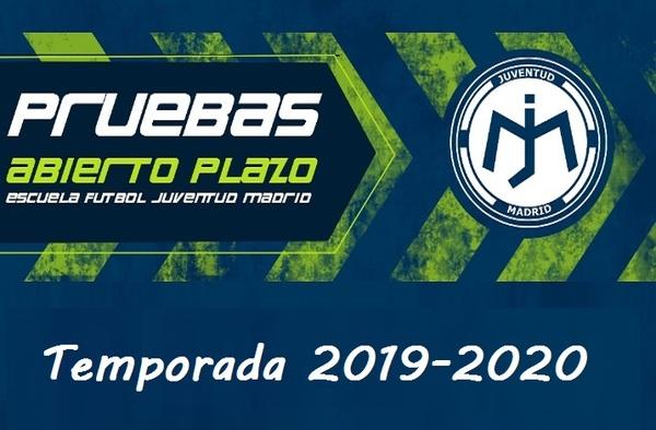 Abierto el plazo de inscripción en la EF Juventud Madrid - Temporada 2019-2020