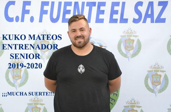 Para la temporada 2019/20, Kuko Mateos entrenará al equipo sénior del C.F. Fuente el Saz