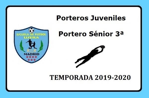 La EF Usera busca porteros Juveniles y Sénior - Temporada 2019/20
