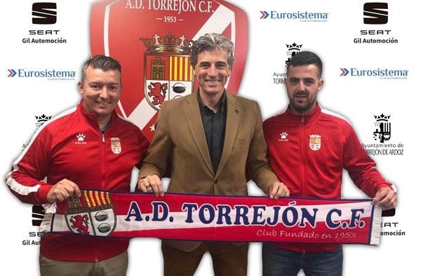 Javi Pérez y Héctor Jiménez, entrenadores para el Juvenil Nacional de la AD Torrejón CF en la temporada 2019/20