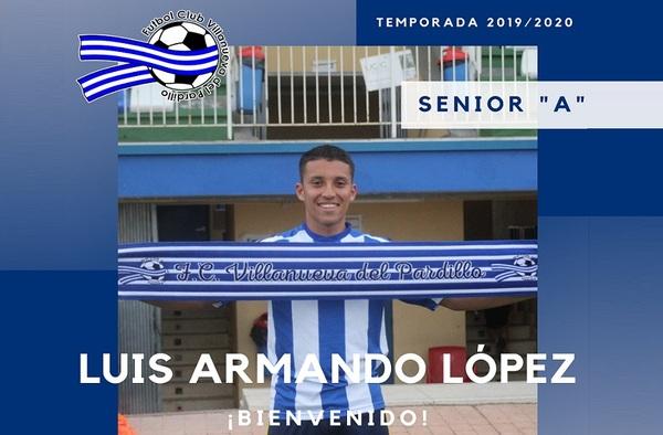 Luigi López, joven central para el proyecto del F.C. Villanueva del Pardillo