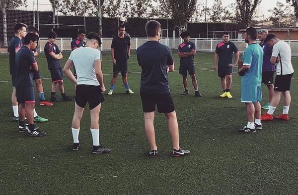 """Iniciada la pretemporada 2019/20 del juvenil de la EMF Atlético Algete con """"Yis"""" de Castro en el banquillo"""