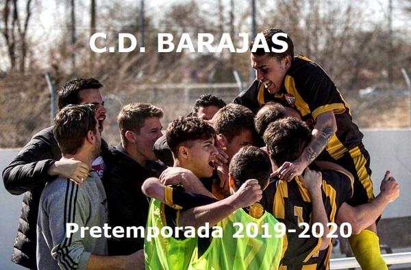 Arrancan los entrenos del Aficionado y los Juveniles del C.D. Barajas de cara a la temporada 2019/20