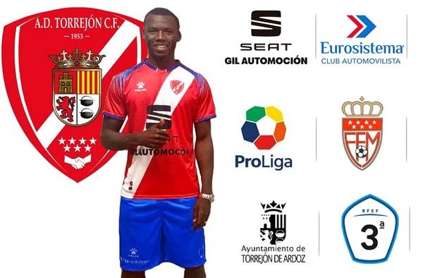Conté, 12º refuerzo del A.D. Torrejón C.F. para la temporada 2019/20