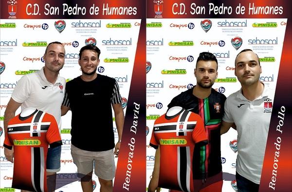 Primeras renovaciones en el C.D. San Pedro de Humanes para la temporada 2019/20