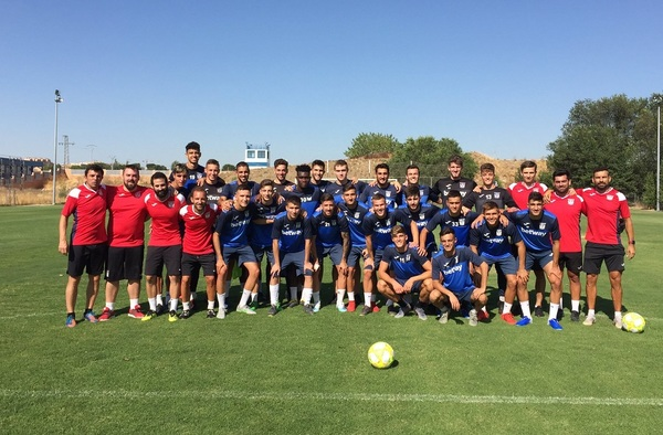 """El C.D. Leganés """"B"""" de Luis Cembranos, primer equipo en iniciar la temporada 2019-2020"""