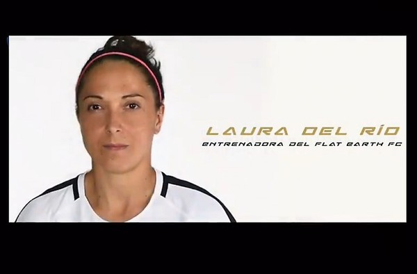 Laura Del Río dirigirá desde el banquillo al Flat Earth FC en su debut en Tercera División