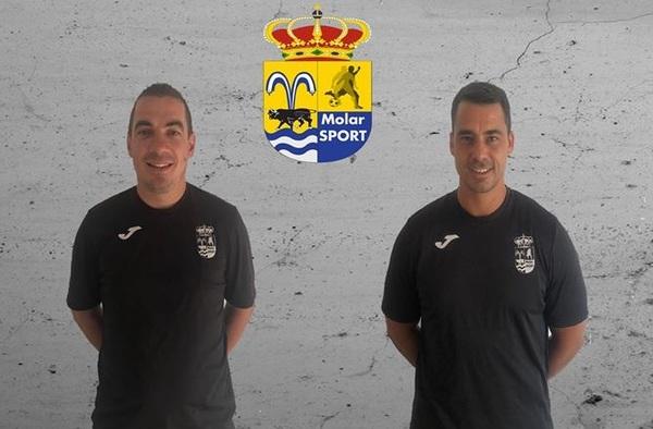 """""""Chus"""" Gómez, una temporada más en el banquillo del Alevín del C.D. Molar Sport"""