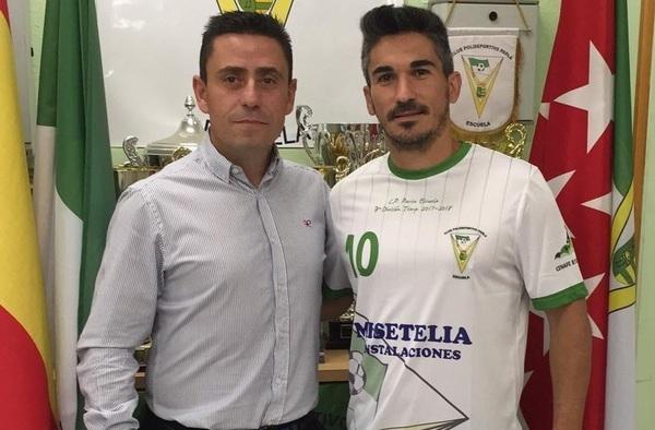 Aitor Pastor, refuerzo defensivo para el proyecto del C.P. Parla Escuela en la temporada 2019/20