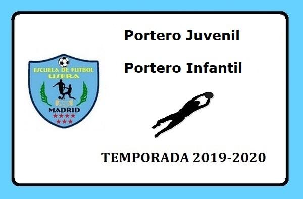 La EF Usera busca porteros para sus equipos Juvenil e Infantil - Temporada 2019/20