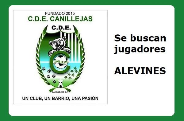 El CDE Canillejas CF busca jugadores para sus equipos Alevines - Temporada 2019/20