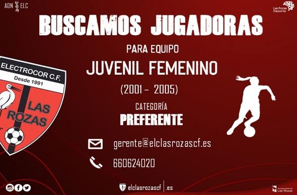 El Electrocor Las Rozas busca jugadoras para su equipo Juvenil Femenino - Temporada 2019/20