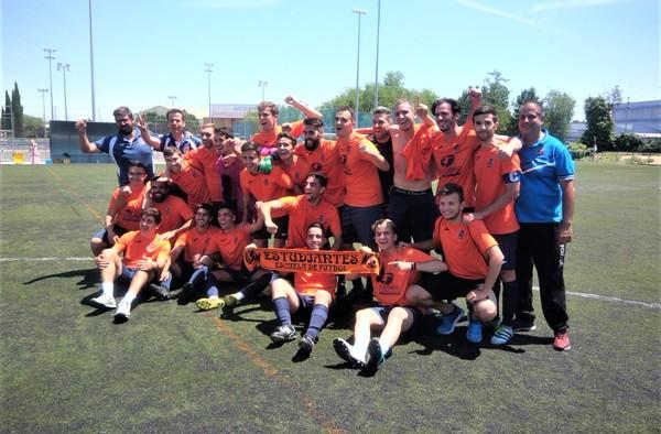 E.F. Estudiantes Alcorcón, un recién ascendido que lidera el grupo 8º de Segunda Regional