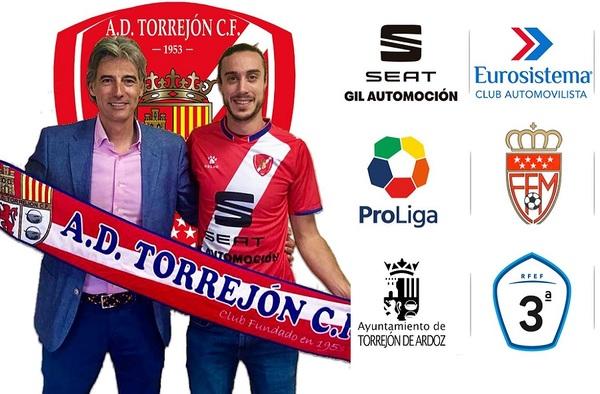 Garci, nuevo fichaje de la A.D. Torrejón C.F. para la temporada 2019/20