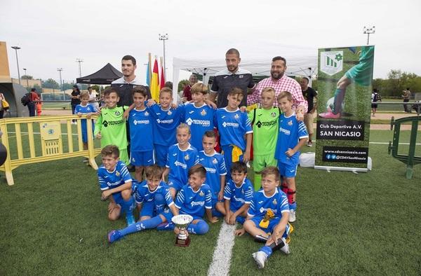 El Getafe CF, nuevo Campeón del XIV Torneo Benjamín Fútbol-7 San Nicasio