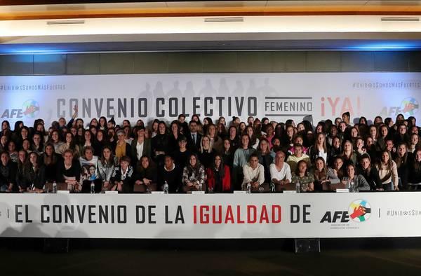 Se consolida la huelga en el fútbol femenino