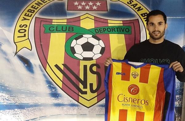 Sandro Escobar, nuevo refuerzo de Los Yébenes San Bruno para la temporada 2019/20