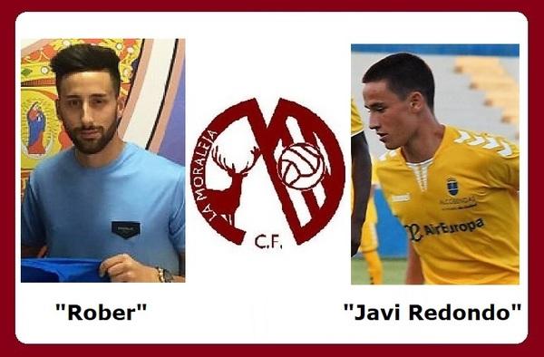 Rober López y Javi Redondo, dos refuerzos ofensivos para La Moraleja C.F.