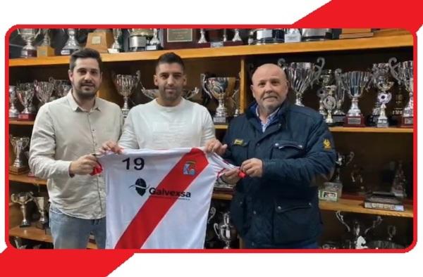 Víctor Barral llega al Colmenar Viejo para echar una mano en su lucha por el ascenso a Preferente