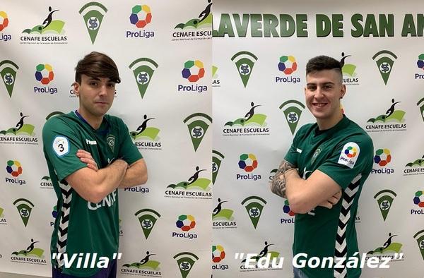 Ken Hirooka, Edu González y Toni Villa, tres refuerzos más para el Villaverde San Andrés