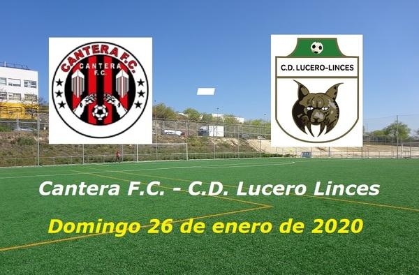 Cantera CF - Lucero Linces, encuentro en la cumbre en el grupo 7º de Segunda Regional