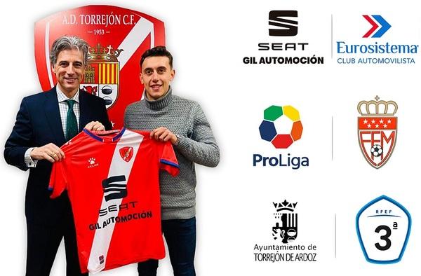 Óscar Cabo, nuevo fichaje del AD Torrejón CF en la segunda vuelta de la temporada 2019/20