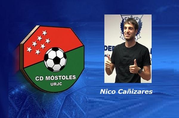 Nico Cañizares, con ficha en el C.D. Móstoles URJC