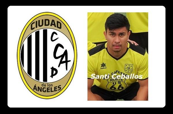 Santi Ceballos vuelve a estar a las órdenes de Samu Fernández-Avilés, pero ahora en el Ciudad de los Ángeles