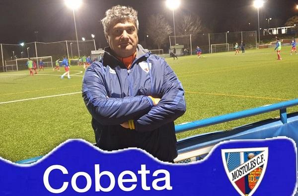 El Móstoles C.F. anuncia la contratación del técnico Juan Cobeta para su filial - Temporada 2019/20