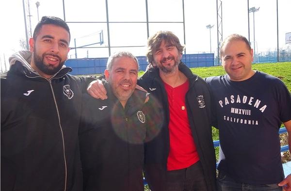 Entrevista a César Hernández, entrenador del AD Sporting Bazán  (Temporada 2019/20)