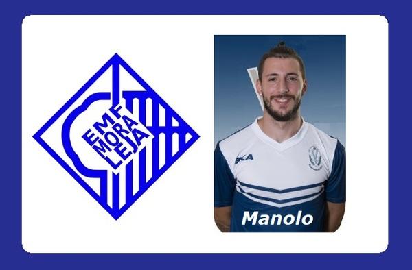 Manolo Padilla, un goleador para la EMF Moraleja de Enmedio